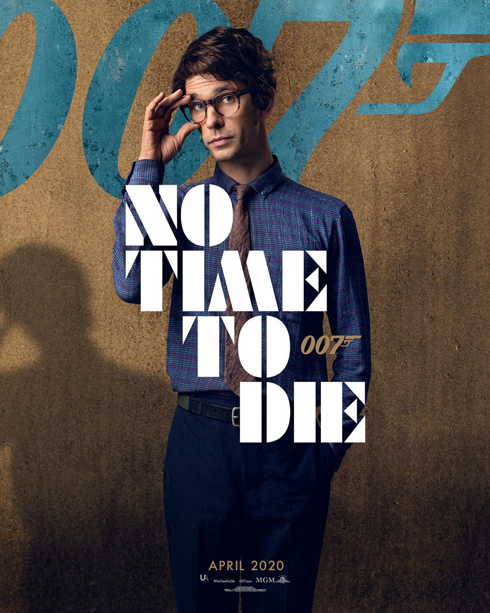 Poster de Q en James Bond No Time To Die