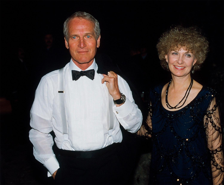 Joanne Woodward y Paul-Newman