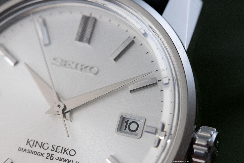 Ventana de fecha del King Seiko KSK