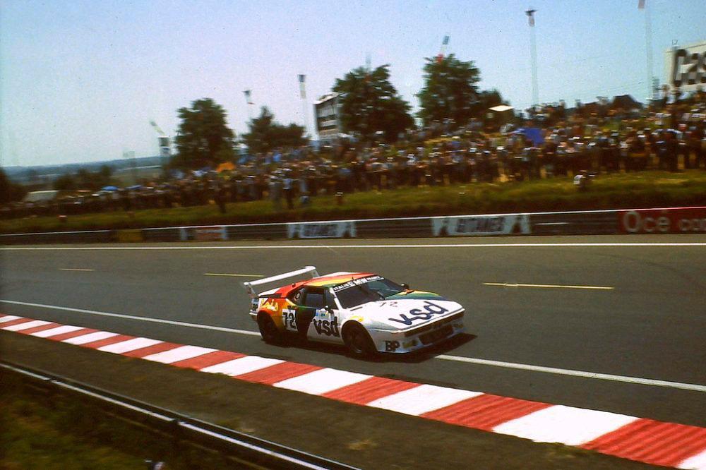 Laurent Ferrier Compitiendo en Le Mans