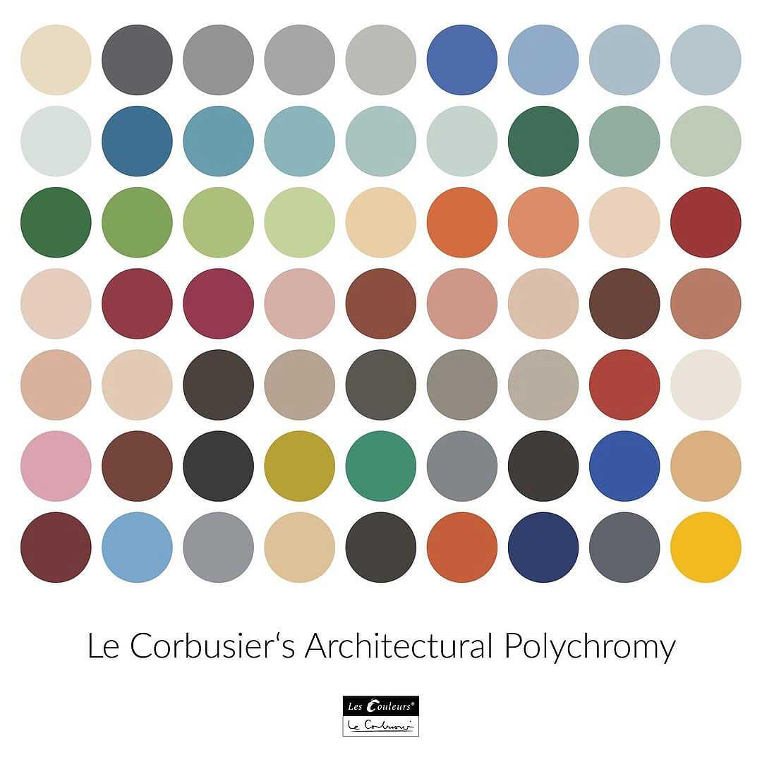 Policromía arquitectónica de Le Corbusier
