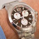 Longines Conquest 1/100th Roland Garros: Fotos en vivo y precios