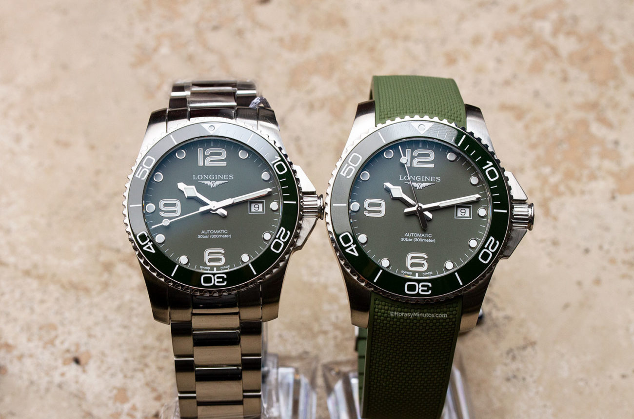 Longines HydroConquest Green 41 y 43