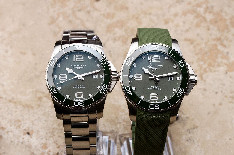 Longines HydroConquest Green 41 y 43