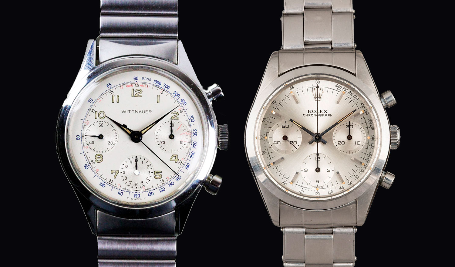 Longines Wittnauer 235T y Rolex Cosmograph 6238