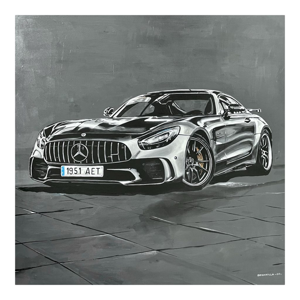 Mercedes AMG GT de Bezanillart