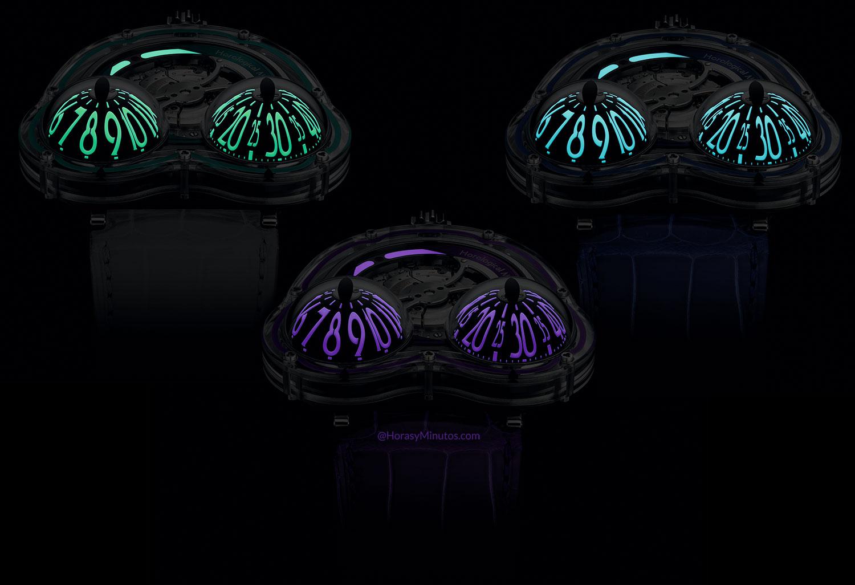 Tratamiento con Super-LumiNova del HM3 Frog X