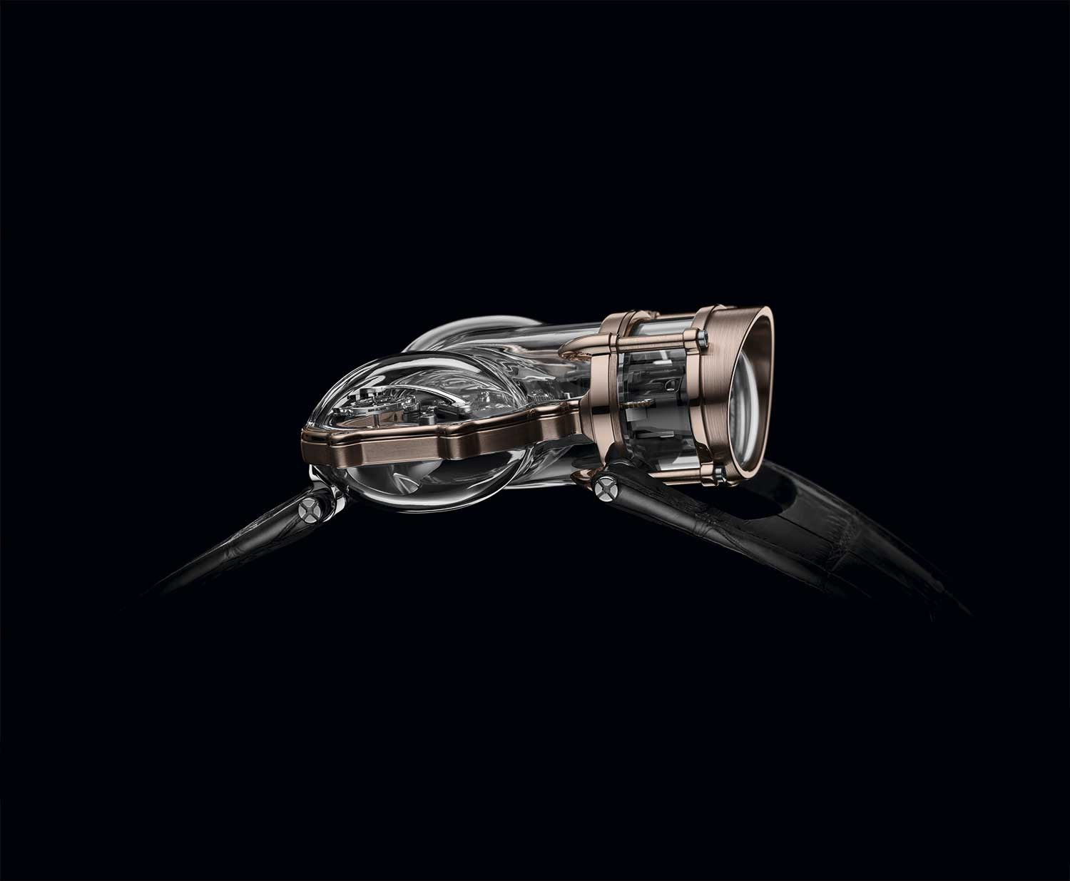 Lateral del MB&F HM9 SV