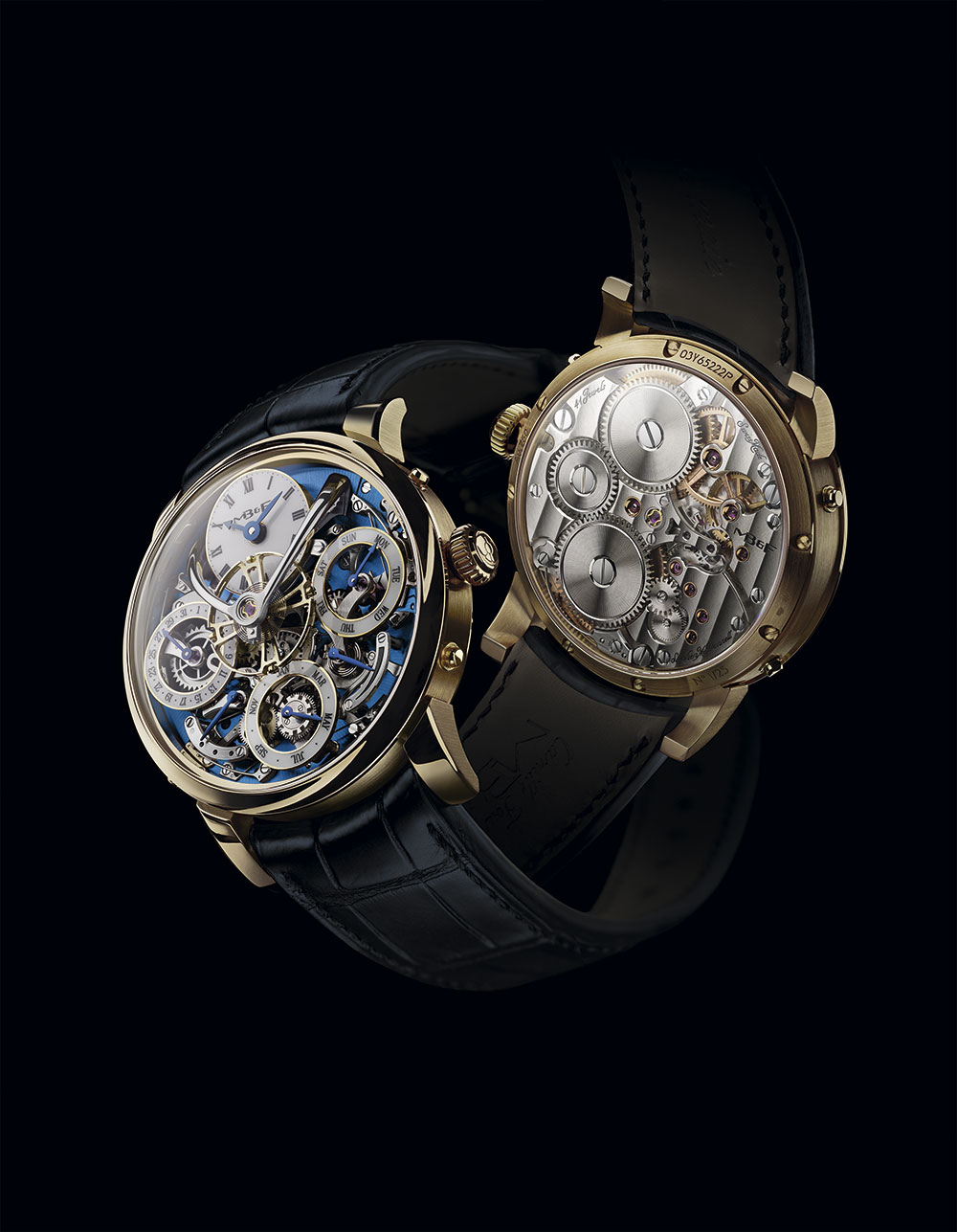 Anverso y reverso del MB&F LM Perpetual