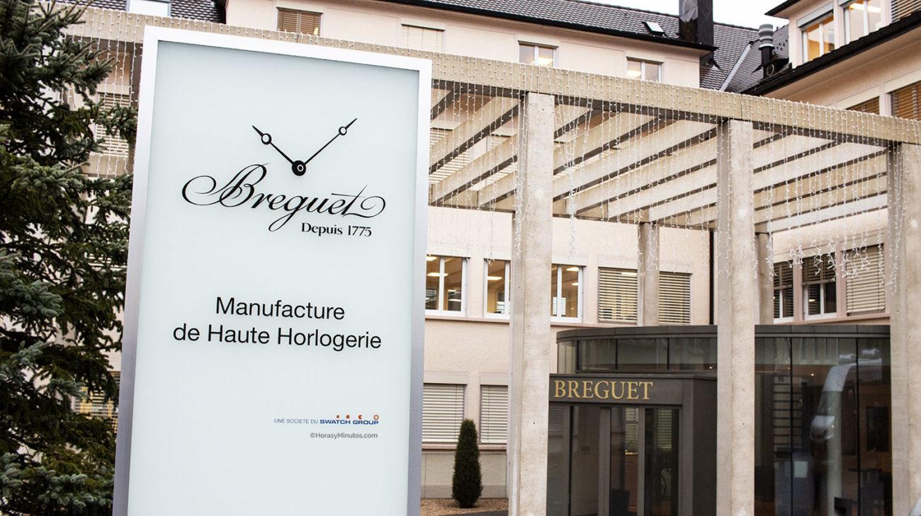 entrada a la manufactura Breguet