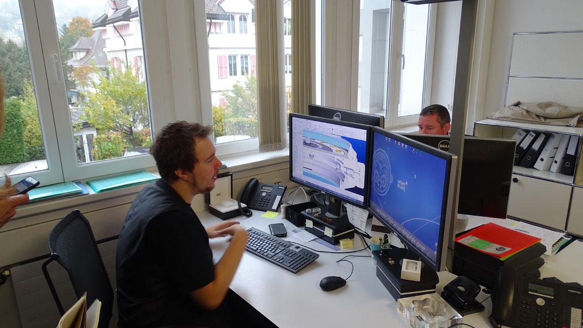 Manufactura Montblanc - Laboratior técnico