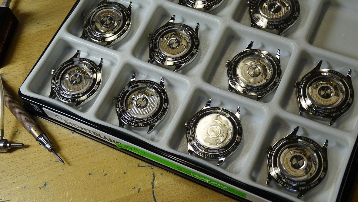 Manufactura Montblanc - cajas acabadas