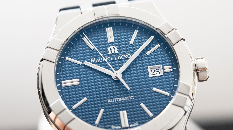 Esfera azul del Maurice Lacroix Aikon Automatic