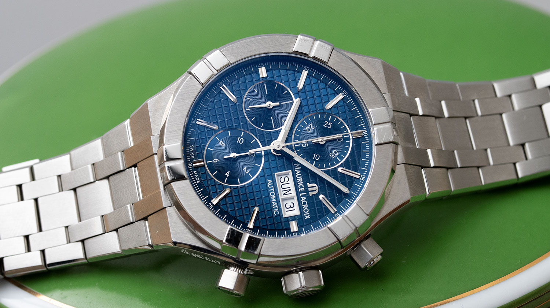 Maurice Lacroix Aikon Chronograph azul
