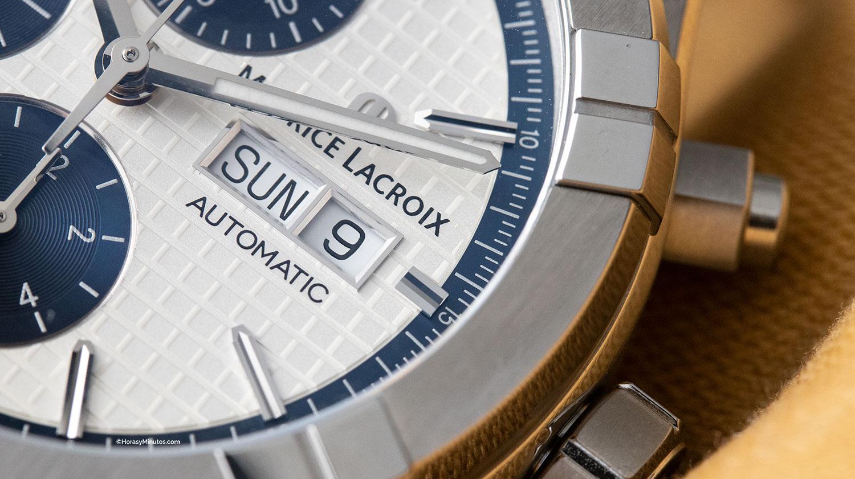 Detalle del Maurice Lacroix Aikon Chronograph