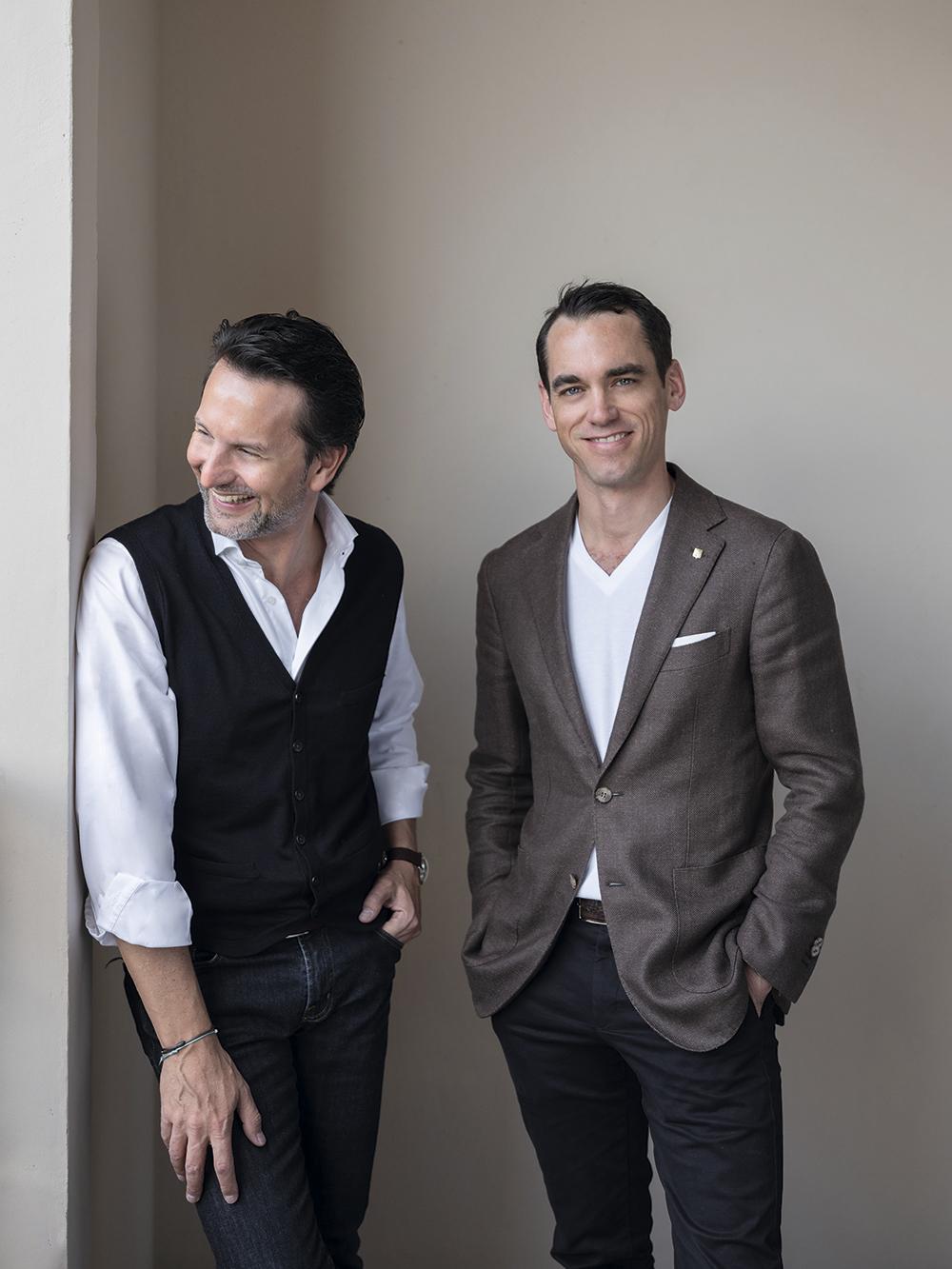 Maximilian Büsser y Edouard Meylan