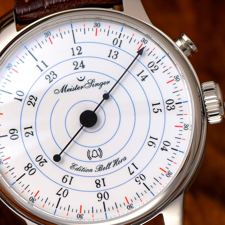 Esfera del MeisterSinger Bell Hora Anniversary Edition
