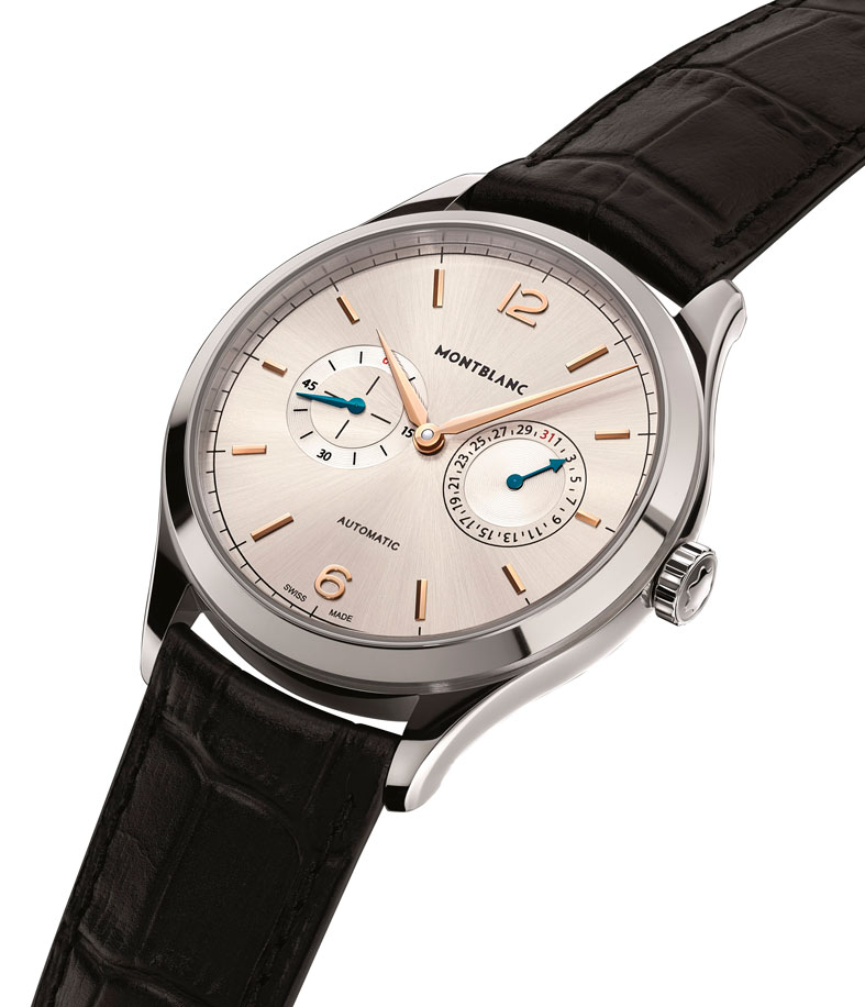 Montblanc Heritage Chronométrie Collection Twincounter Date perfil