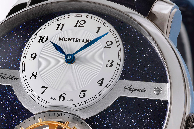 Esfera horaria del Montblanc Star Legacy Suspended Exo Tourbillon