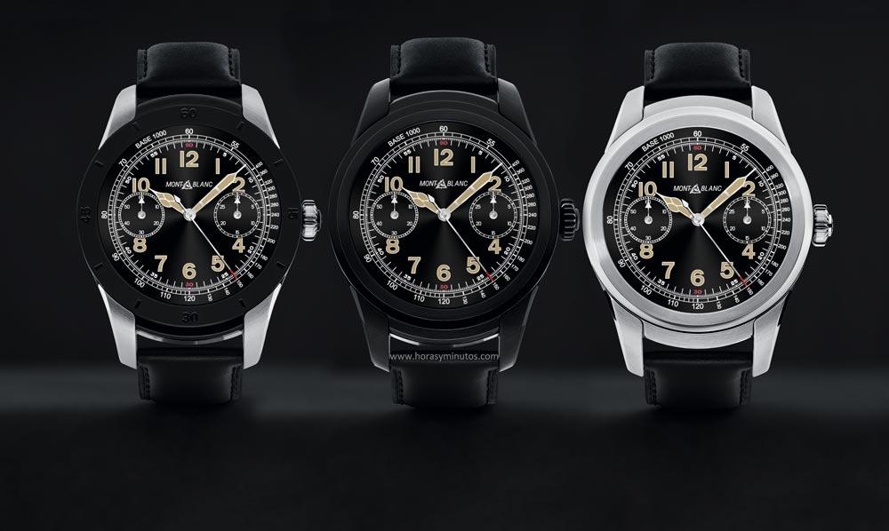 3692c82abde8 Montblanc Summit  el primer smartwatch del grupo Richemont