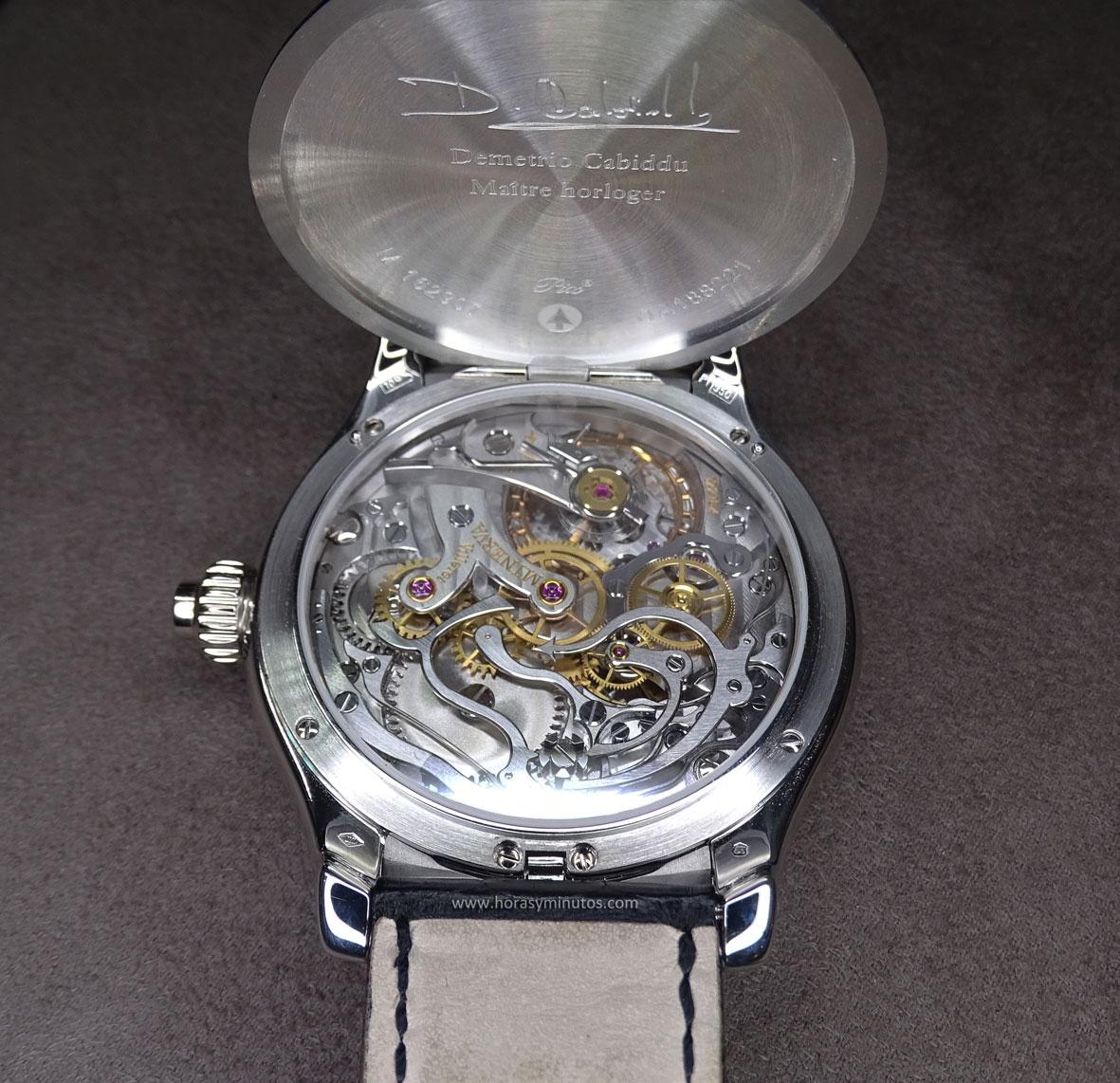 Montblanc Villeret 1858 Grand Chronographe Email Grand Feu reverso Salon QP