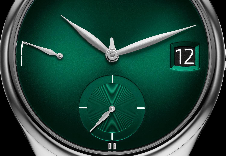 Moser Endeavour Perpetual Calendar Purity Cosmic Green