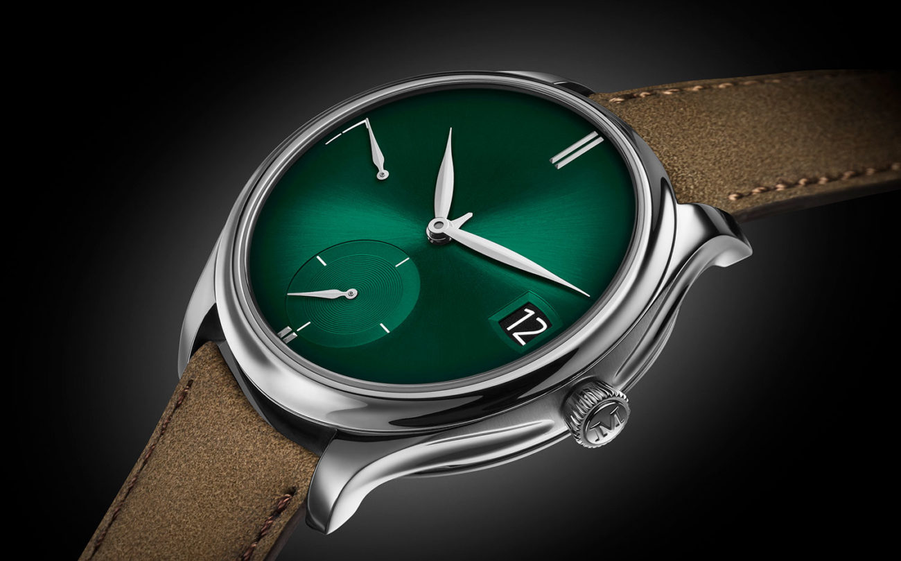 Moser Endeavour Perpetual Calendar Purity Cosmic Green