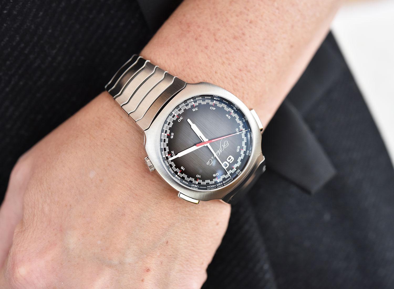 Así queda el Moser Streamliner Chronograph