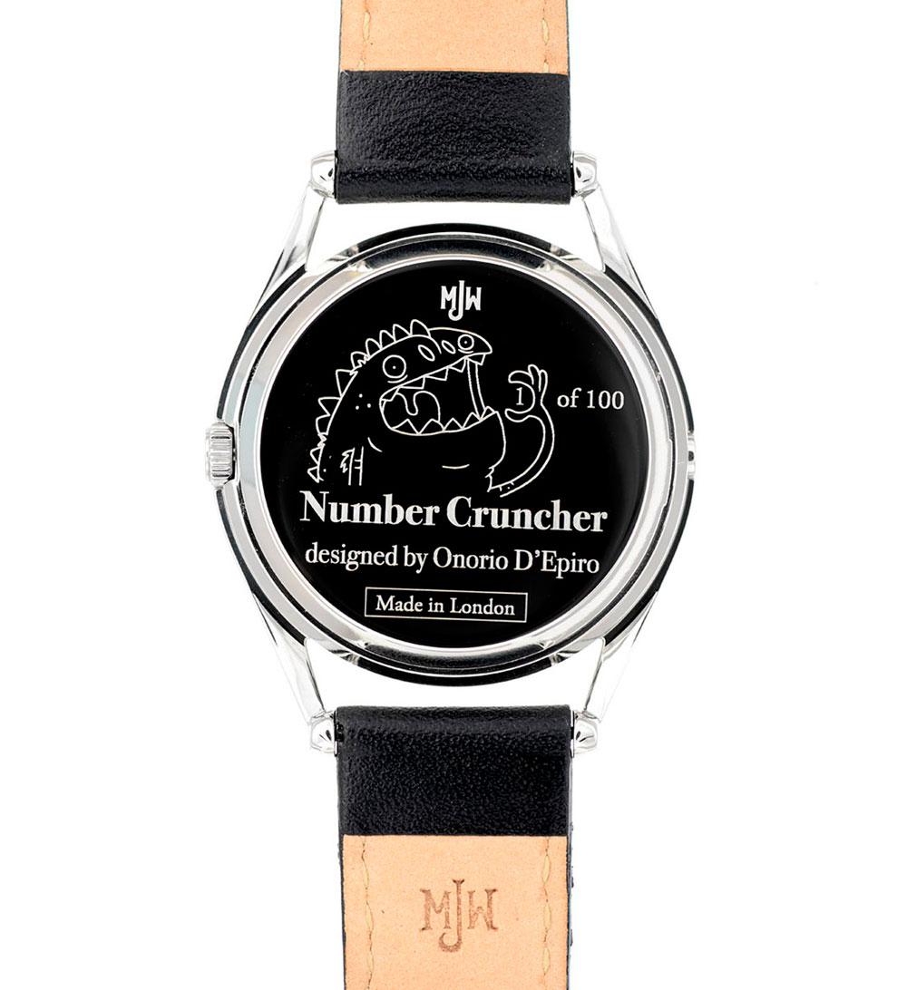 Mr. Jones Watches Number Cruncher
