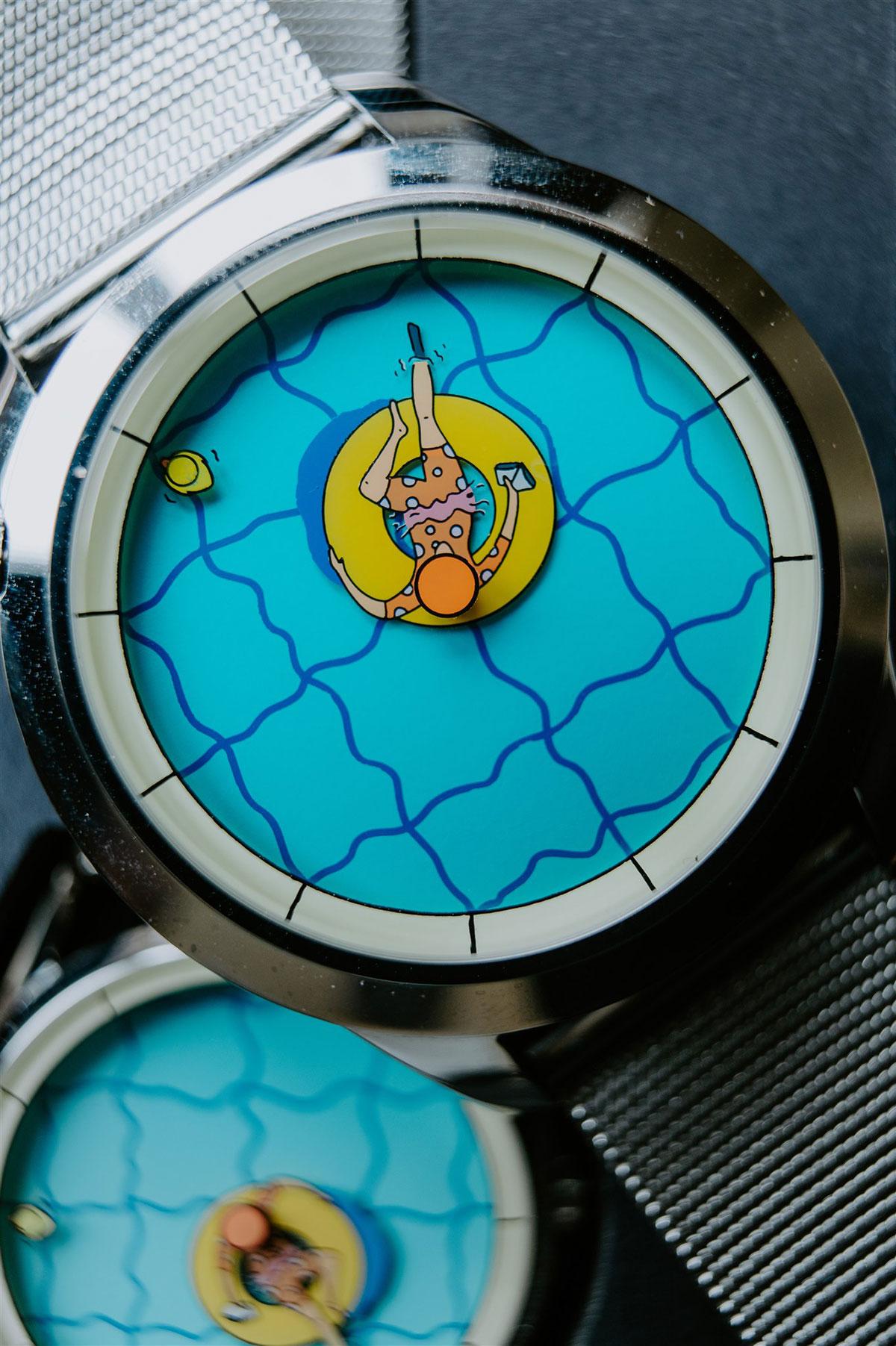 Esfera de Una Tarde Perfectamente Inútil de Mr. Jones Watches