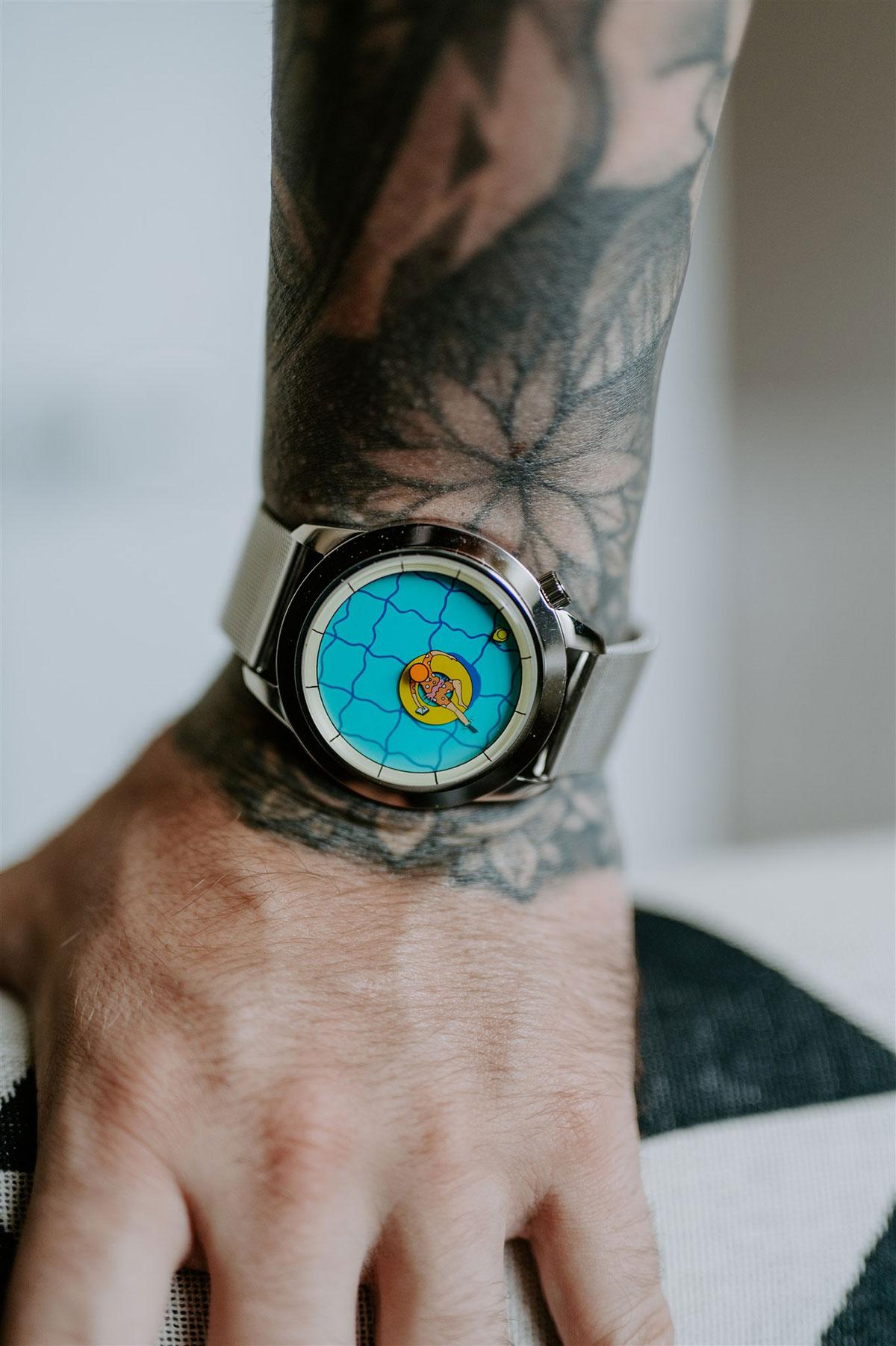 Así queda Una Tarde Perfectamente Inútil de Mr. Jones Watches