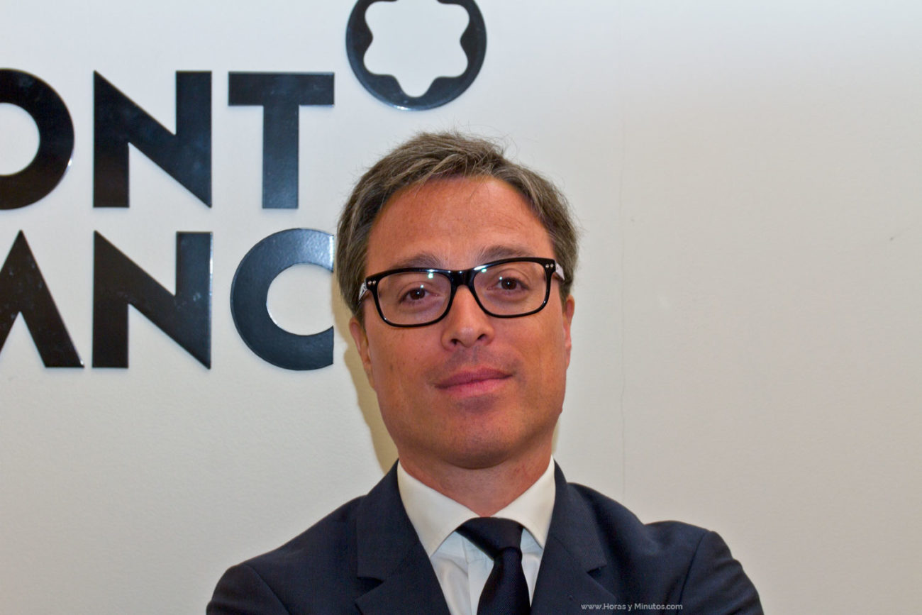 Nicolas Baretzki CEO de Montblanc