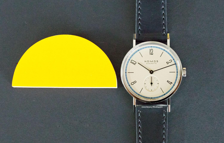 Nomos Glashütte Tangente - a Century of Bauhaus