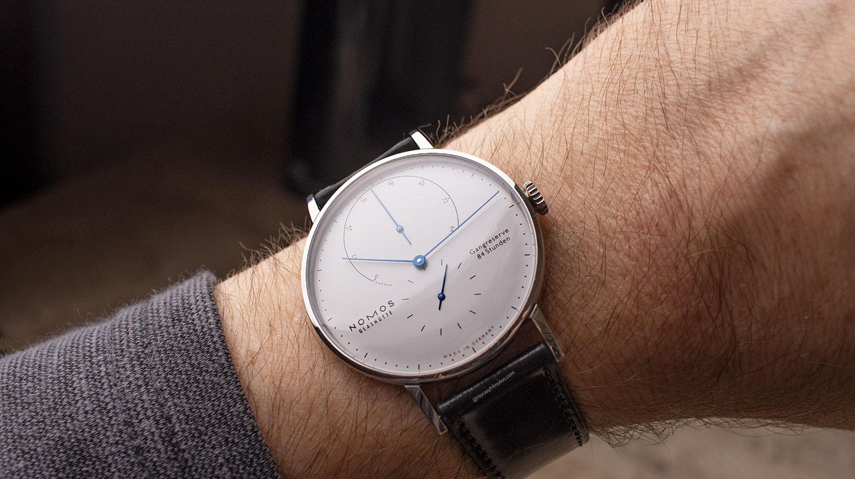 Así queda el Nomos Lambda 175 Years Watchmaking