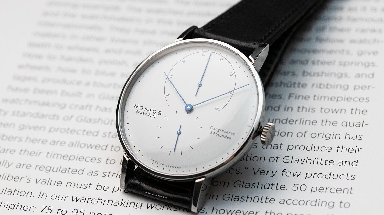 Esfera del Nomos Lambda 175 Years Watchmaking