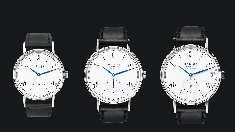 Los tres Nomos Ludwig 175 Years Watchmaking Glashütte