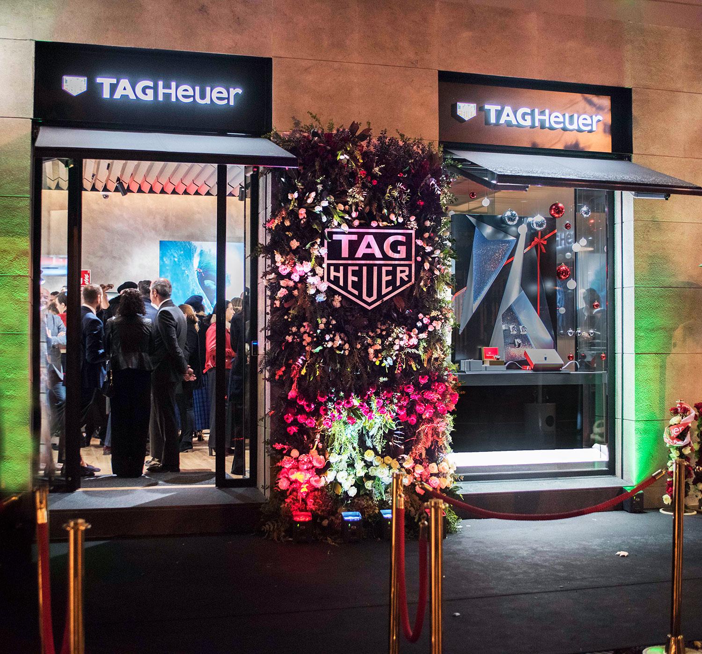 Inauguración de la nueva boutique de TAG Heuer