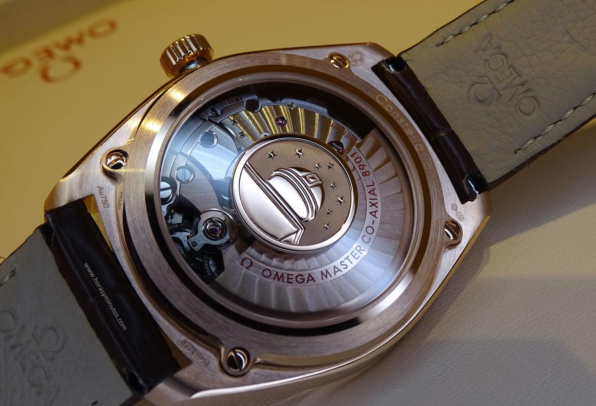 OMEGA-Globemaster-Master-Chronometer-oro-sedna-calibre-coaxial-Horas-y-Minutos
