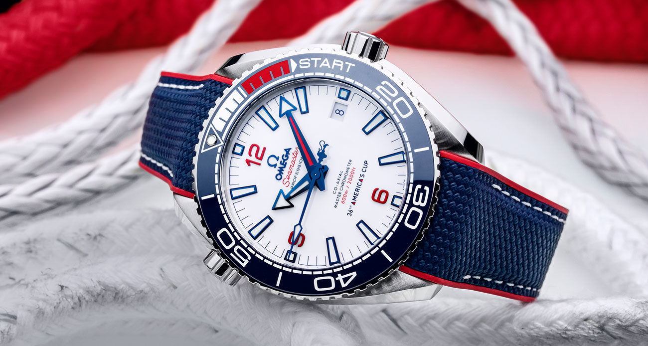 OMEGA Seamaster Planet Ocean 36th America's Cup Limited Edition