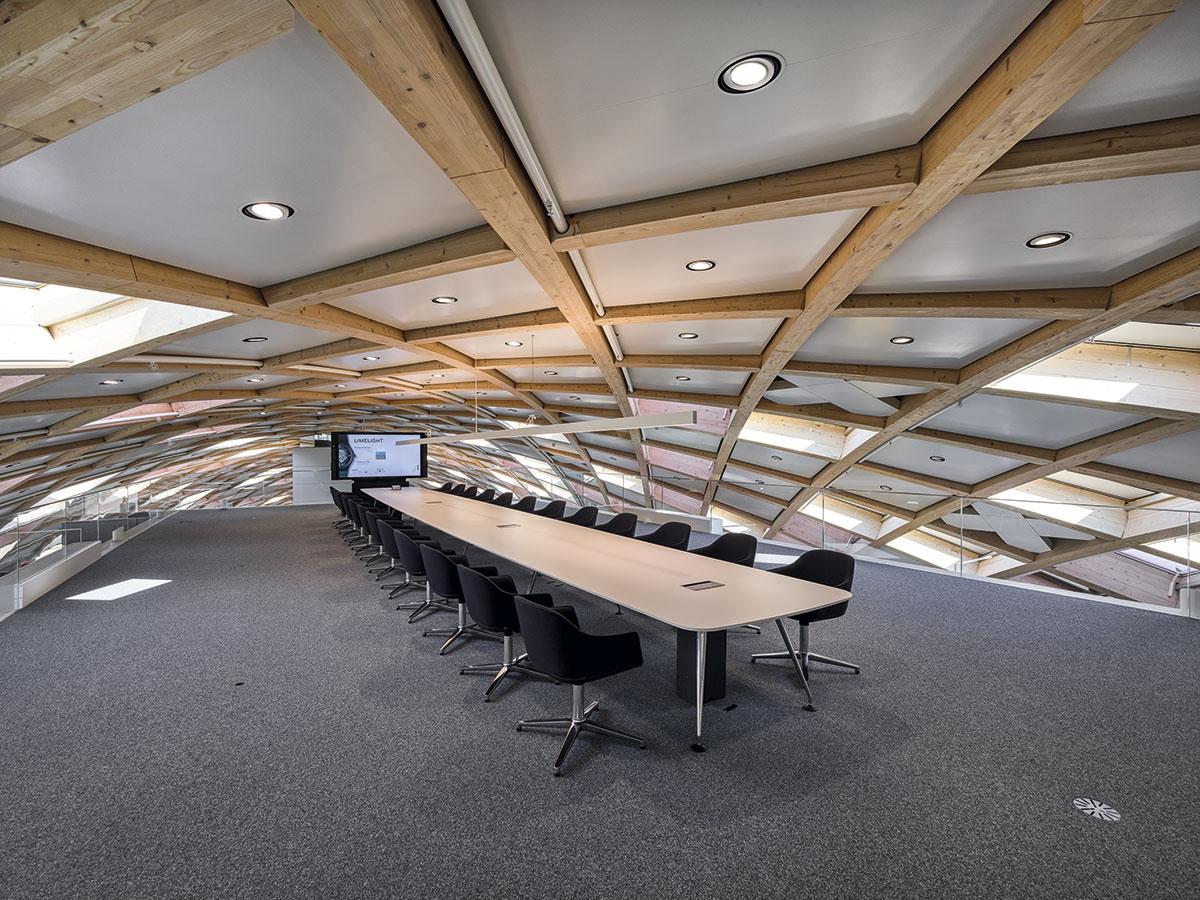 Sala de reuniones de las Oficinas Centrales del Grupo Swatch