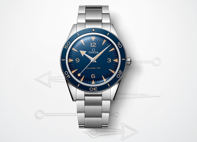 Omega Seamaster 300 41 mm azul
