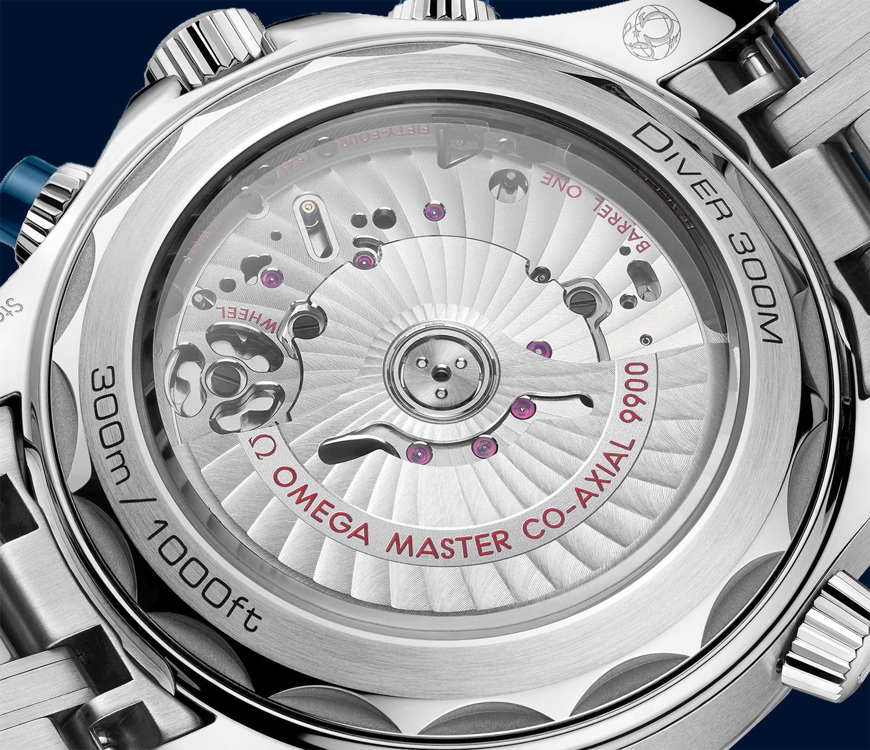 Calibre 900 del Omega Seamaster 300M Chronograph