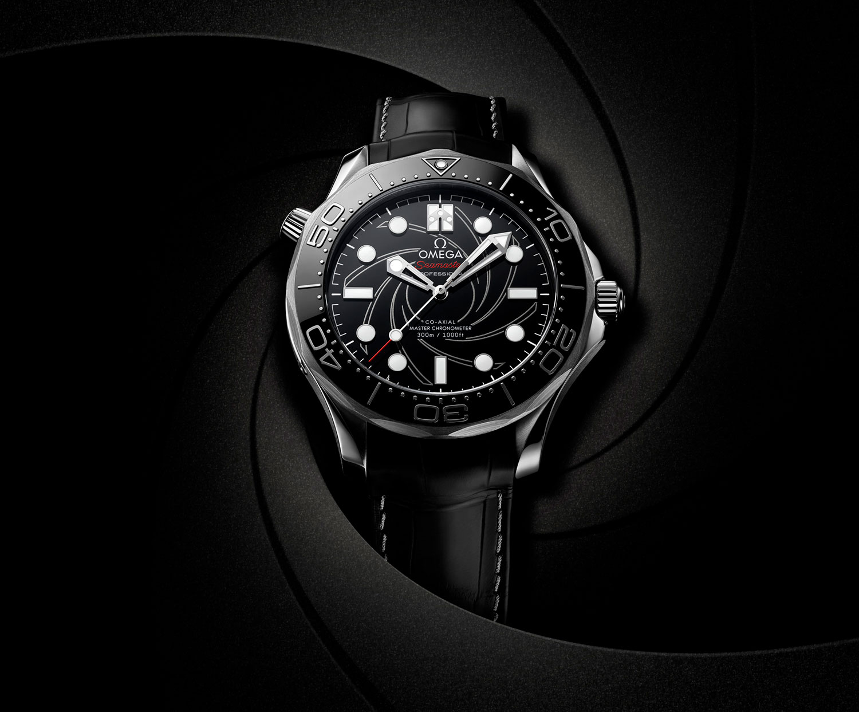 Omega Seamaster 300M James Bond Platino y Oro vertical
