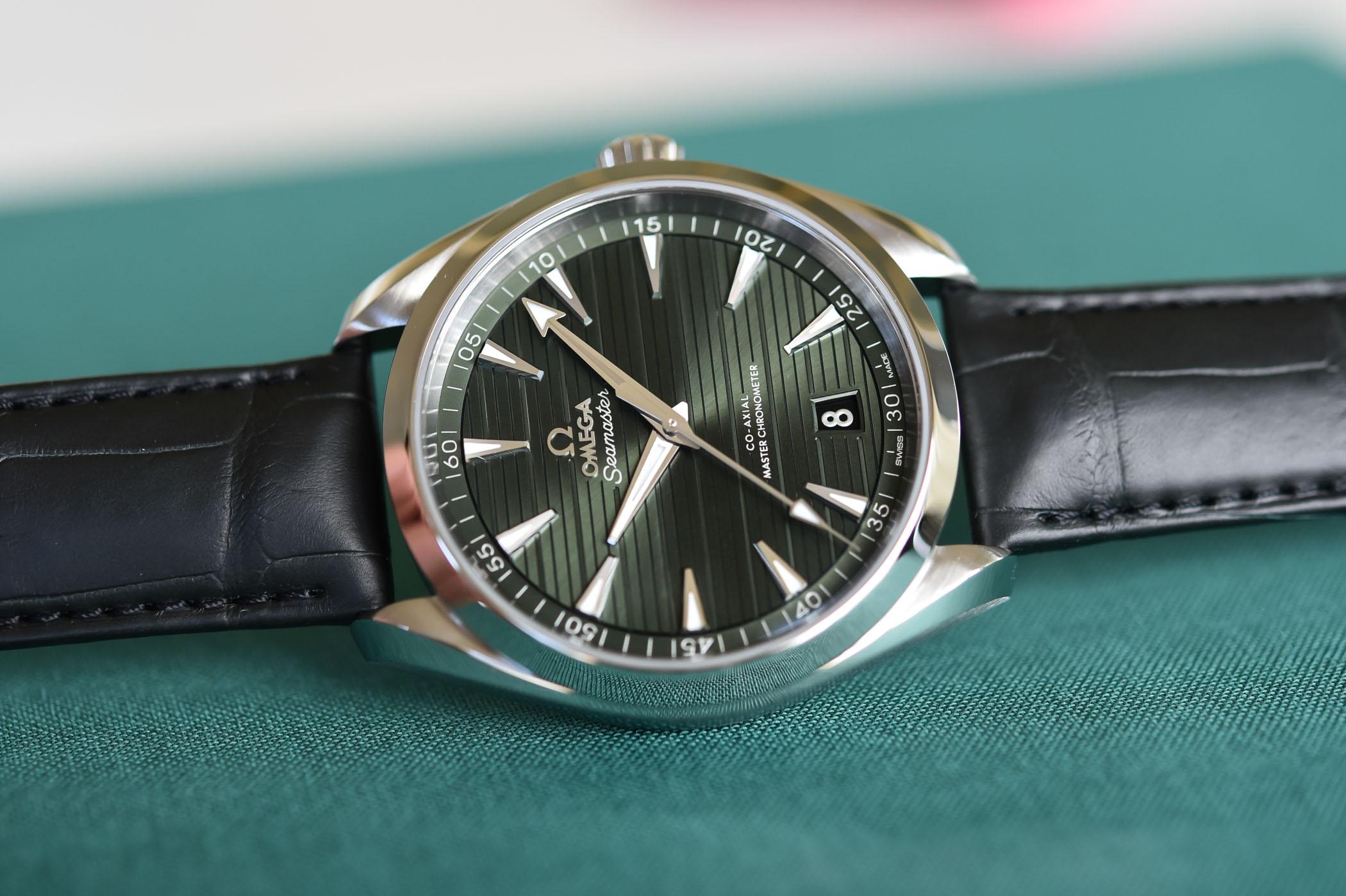 Otra vista del Omega Seamaster Aqua Terra 150M Master Chronometer