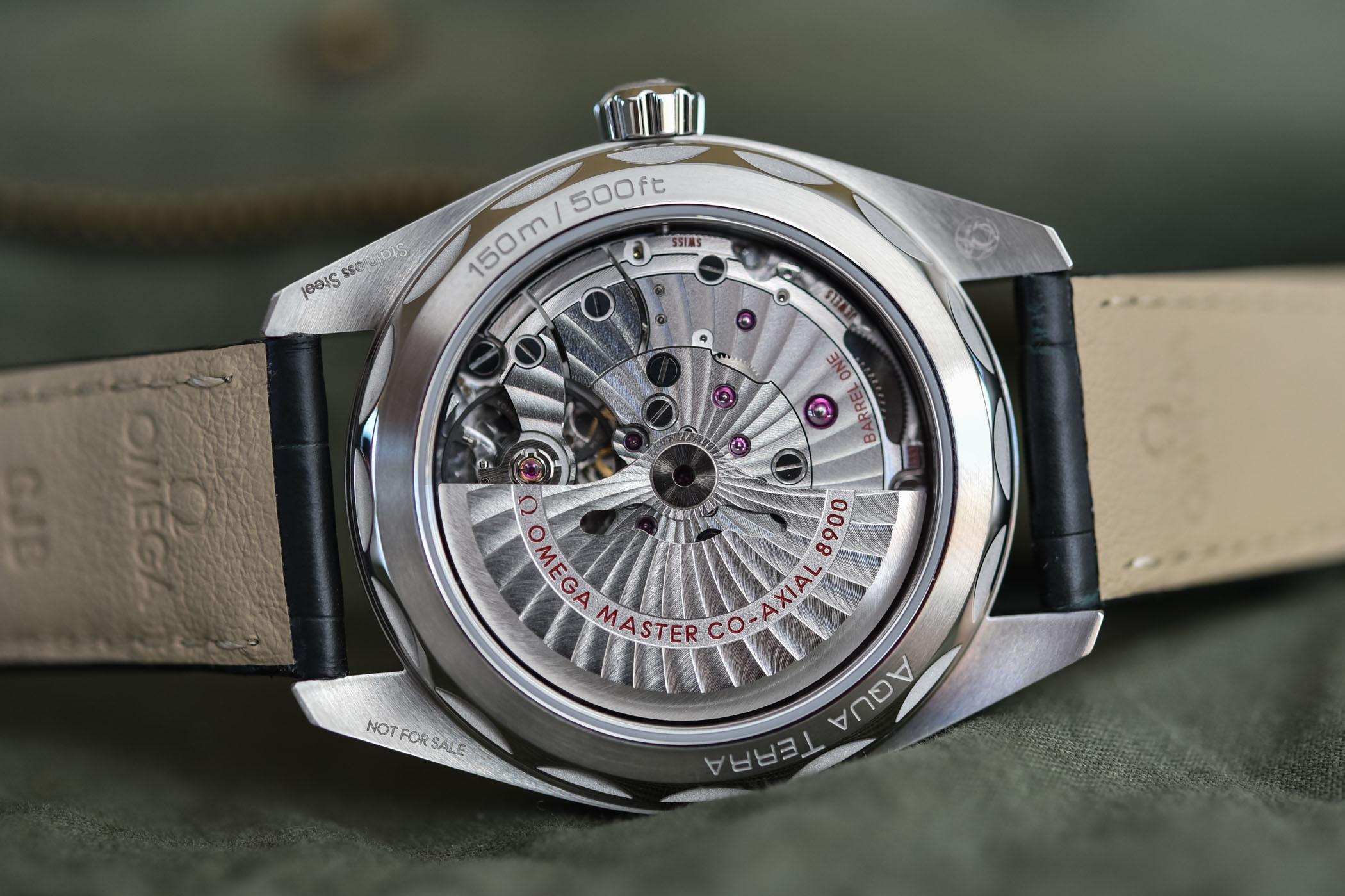 Calibre 8900 del Omega Seamaster Aqua Terra 150M Master Chronometer