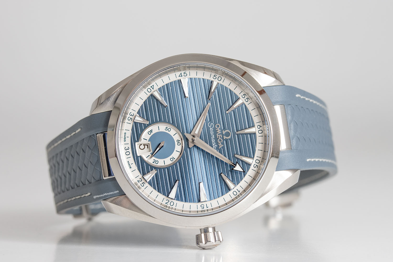 Omega Seamaster Aqua Terra Small Seconds azul