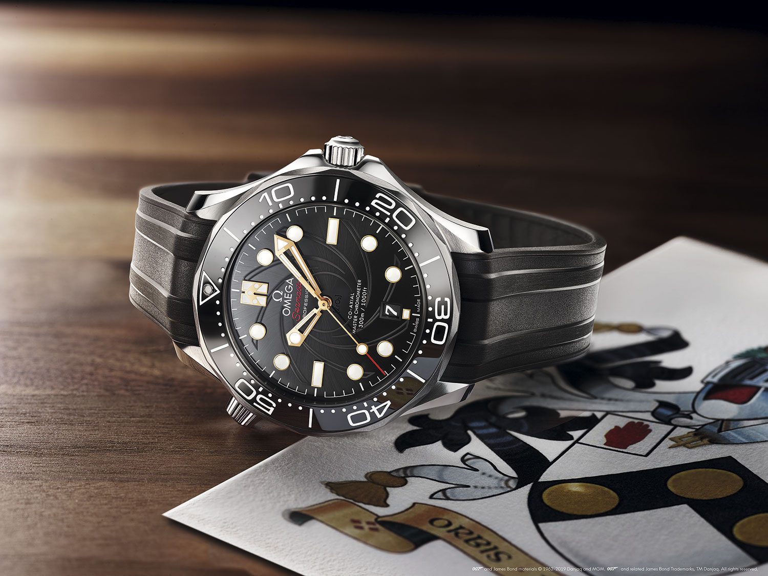 "Omega Seamaster Diver 300M ""On Her Majesty's Secret Service"" 50th Anniversary portada"