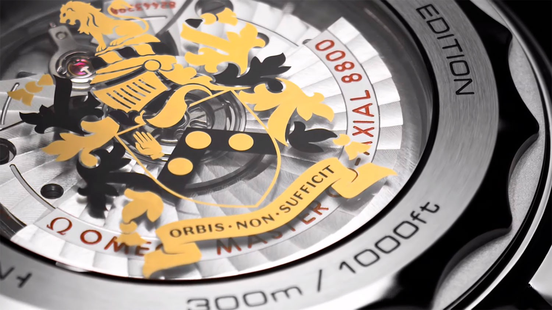 """Calibre del Omega Seamaster Diver 300M """"On Her Majesty's Secret Service"""" 50th Anniversary"""