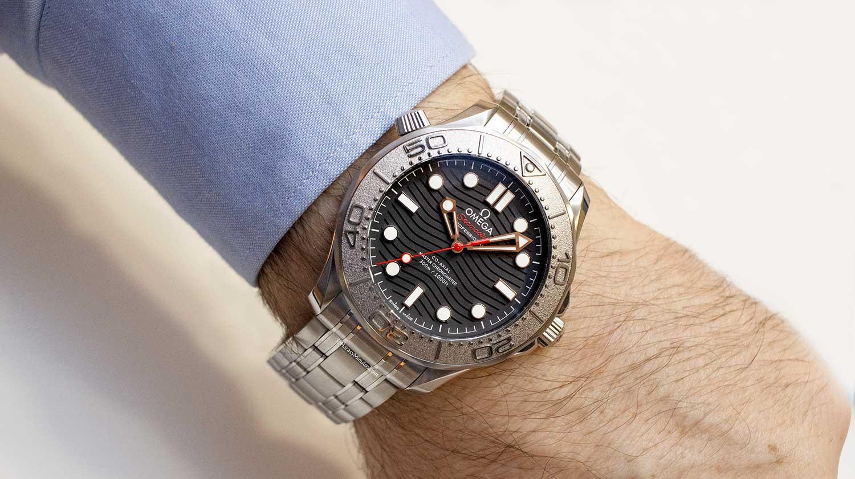 Así queda el Omega Seamaster Diver 300M Nekton Edition