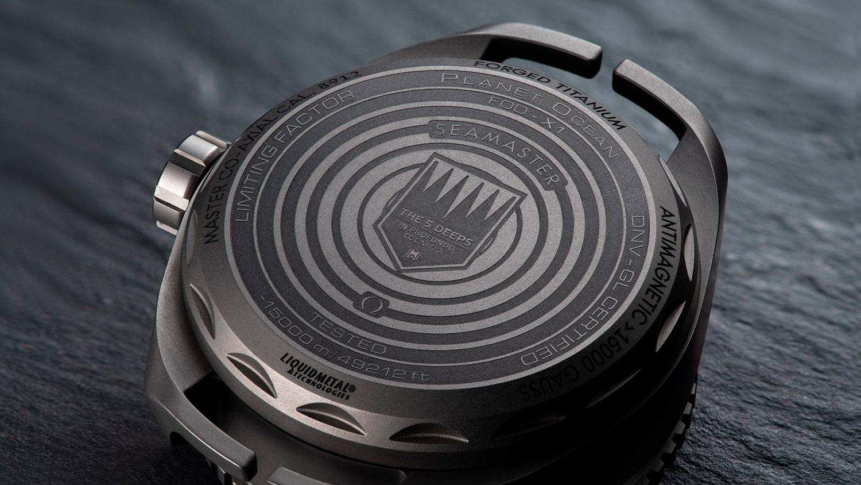 Fondo del Omega Seamaster Planet Ocean Ultra Deep Professional